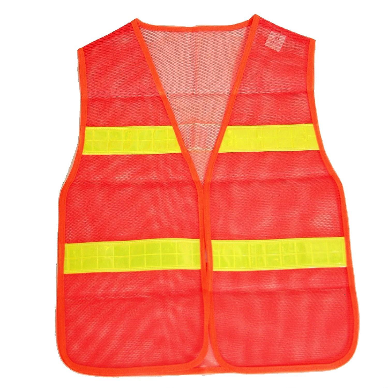 Brubaker Sicherheitsweste Orange gem/ä/ß DIN Norm EN471