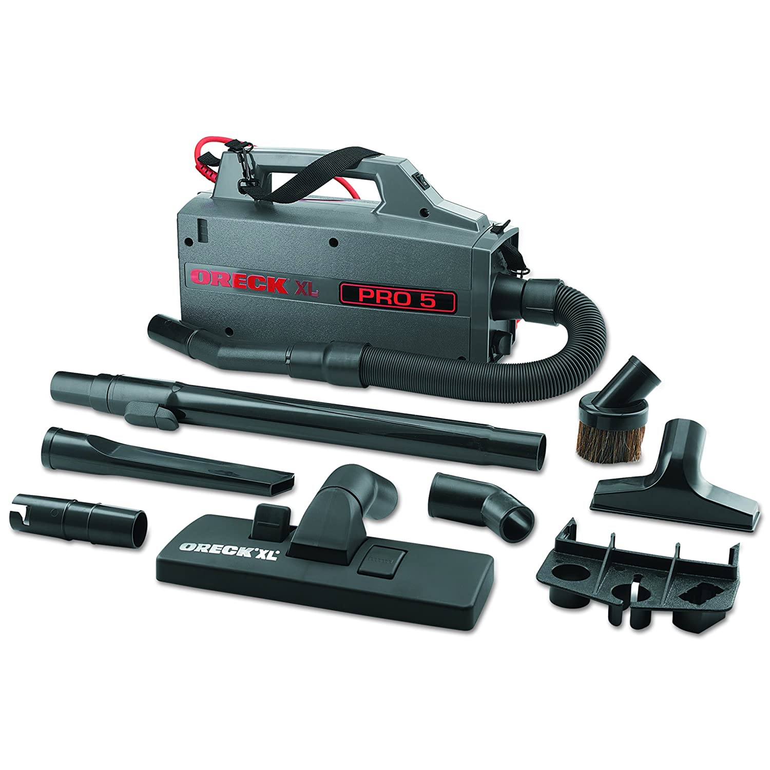 Oreck Commercial BB900DGR XL Pro 5 Super Compact Canister Vacuum, 30' Power Cord 30' Power Cord BB900-DGR