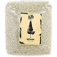 KoRo | BIO Quinoa Weiß | Weißes Quinoa Aus Kontrolliert Biologischem Anbau | Natürlich Glutenfrei | 2kg Vorteilspack