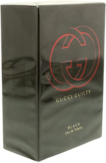 1167d70d5fe Amazon.com   Gucci Guilty Black Pour Femme Fragrance Collection 2.5-oz. Eau  de Toilette   Beauty