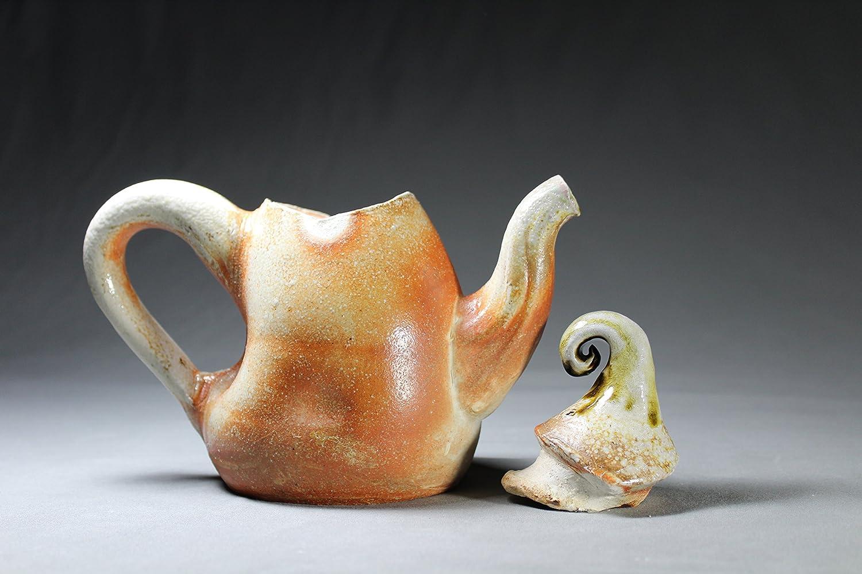 Sodafired Teapot. 20 oz Handmade