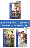Harlequin Special Edition February 2016 - Box Set 1 of 2: Fortune's Perfect Valentine\A Soldier's Promise\Waking Up Wed
