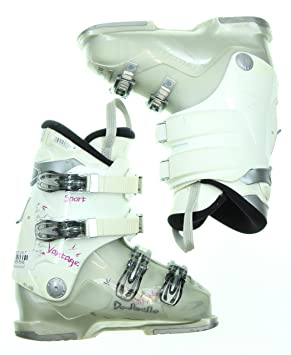 Amazon Com Used Ski Boots >> Used Dalbello Vantage Sport White Gray Ski Boots Women S