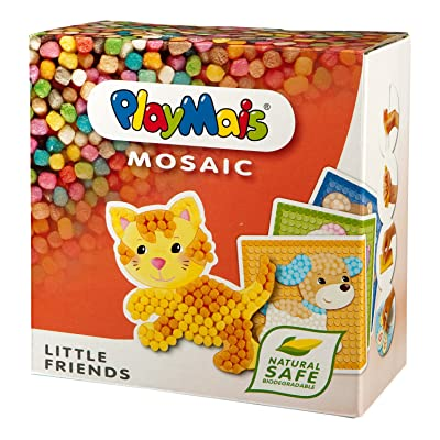 Playmais Mosaic Little Friends, Multicoloured: Toys & Games