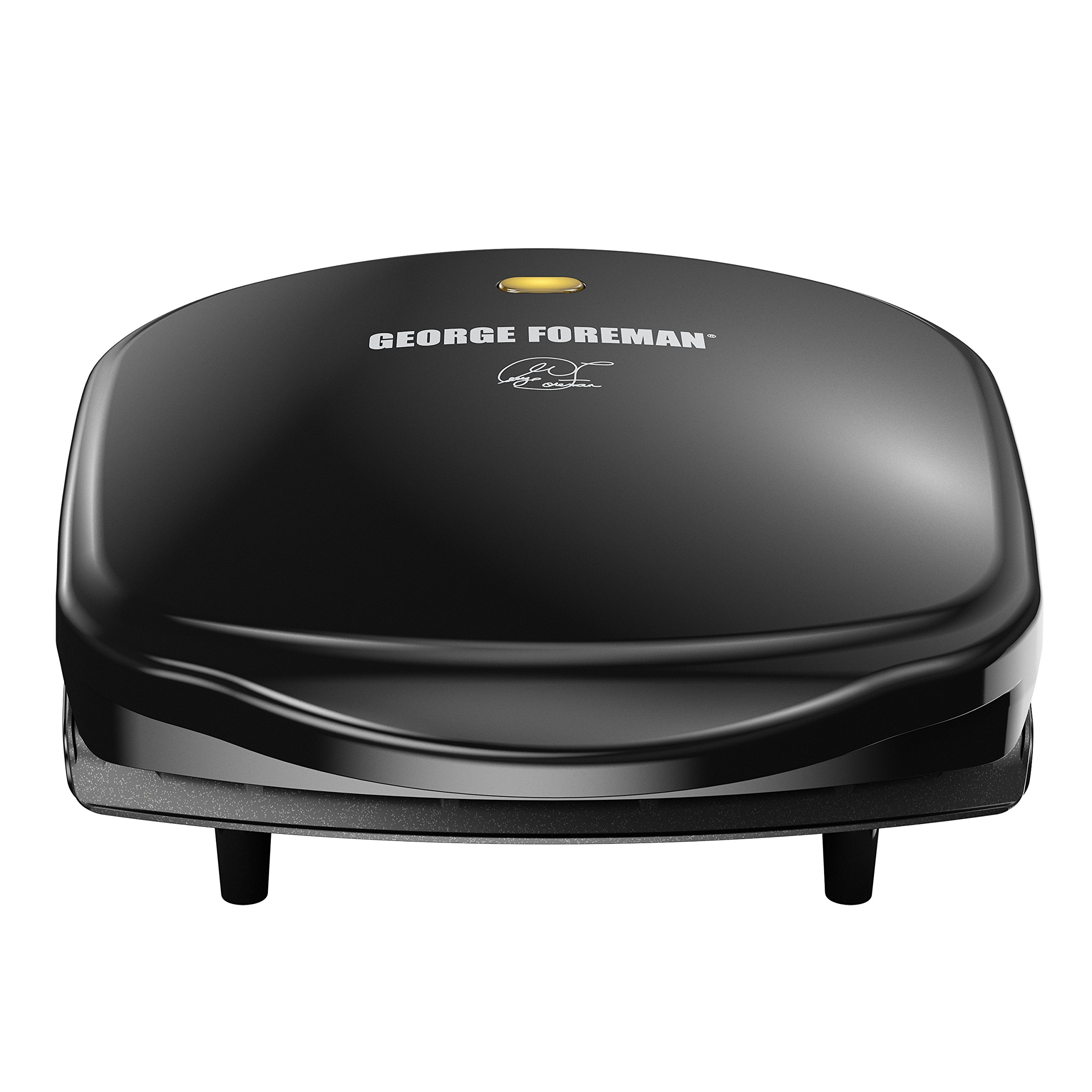 George Foreman 2-Serving Classic Plate Electric Indoor Grill and Panini Press, Black, GR10B by George Foreman (Image #8)