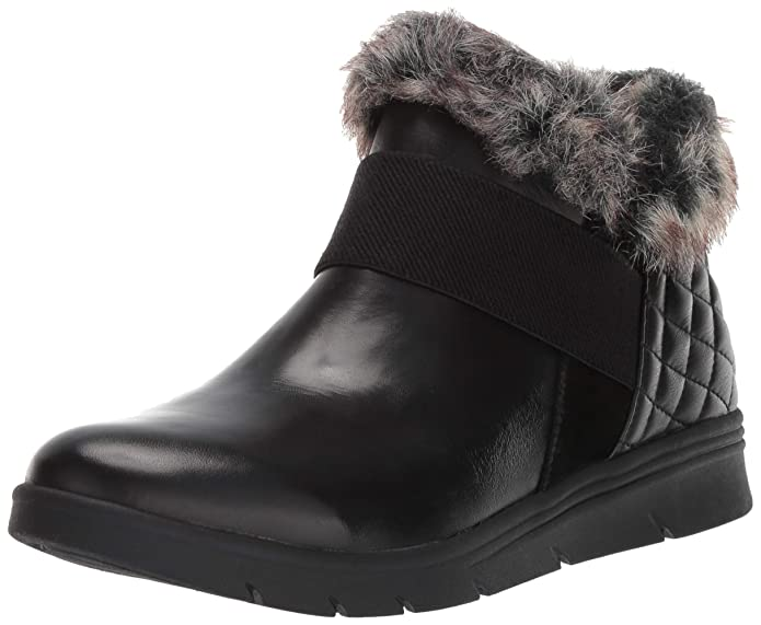 Easy Spirit Women's Grizzly Ankle Boot, Black, 8 M US
