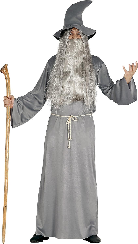 Guirca- Disfraz adulto mago, Talla 52-54 (84466.0): Amazon.es ...