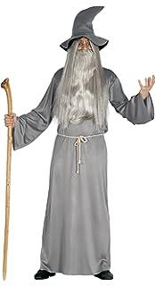 DISBACANAL Disfraz de Mago Gris - -, L: Amazon.es: Juguetes y juegos
