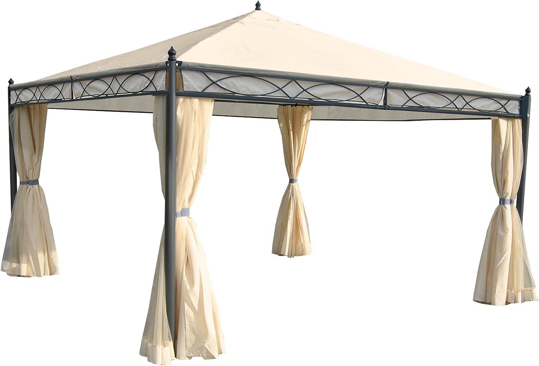 Pergola Cadiz, Cenador, estructura estable de 7 cm de con ...