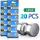 LiCB 20 Pack LR44 AG13 357 303 SR44 Battery 1.5V Button Coin Cell Batteries
