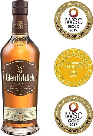 Glenfiddich Whisky de malta escocés 18 años – 70cl