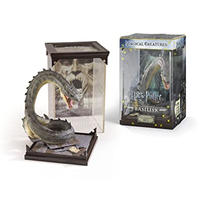 The Noble Collection Harry Potter Magical Creatures: No.3 Basilisk: Toys & Games