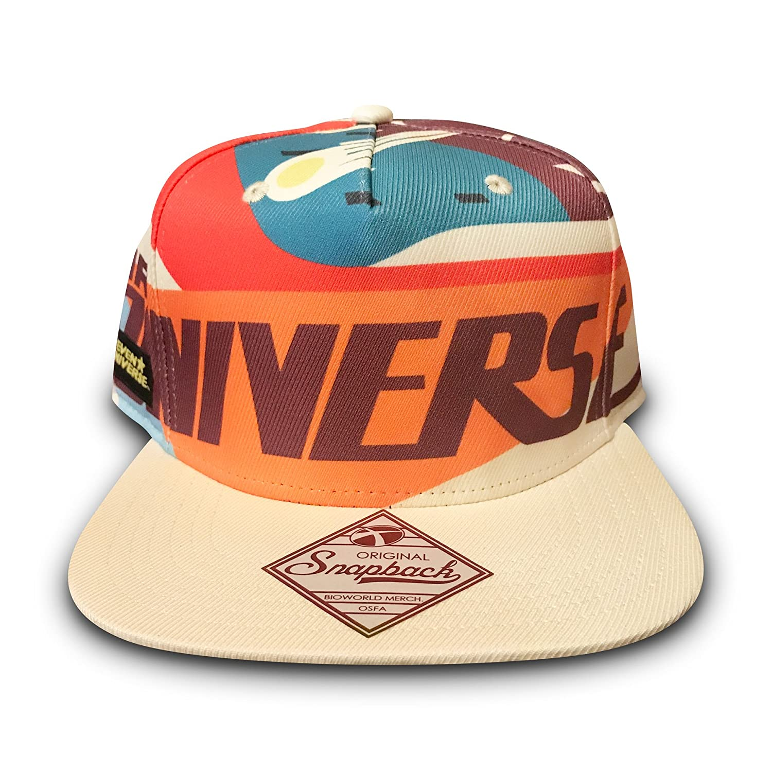 Amazon.com  STEVEN UNIVERSE - Mr. Universe Snapback Hat  Clothing 82d74fefd14