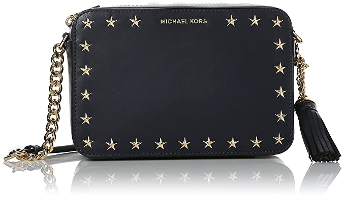 1cb07522fd4 Image Unavailable. Image not available for. Colour: Michael Kors Ginny  Medium Leather Camera Bag ...