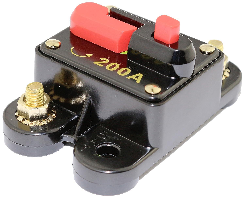 Bullz Audio (BCB200A) 200 Amp Circuit Breaker