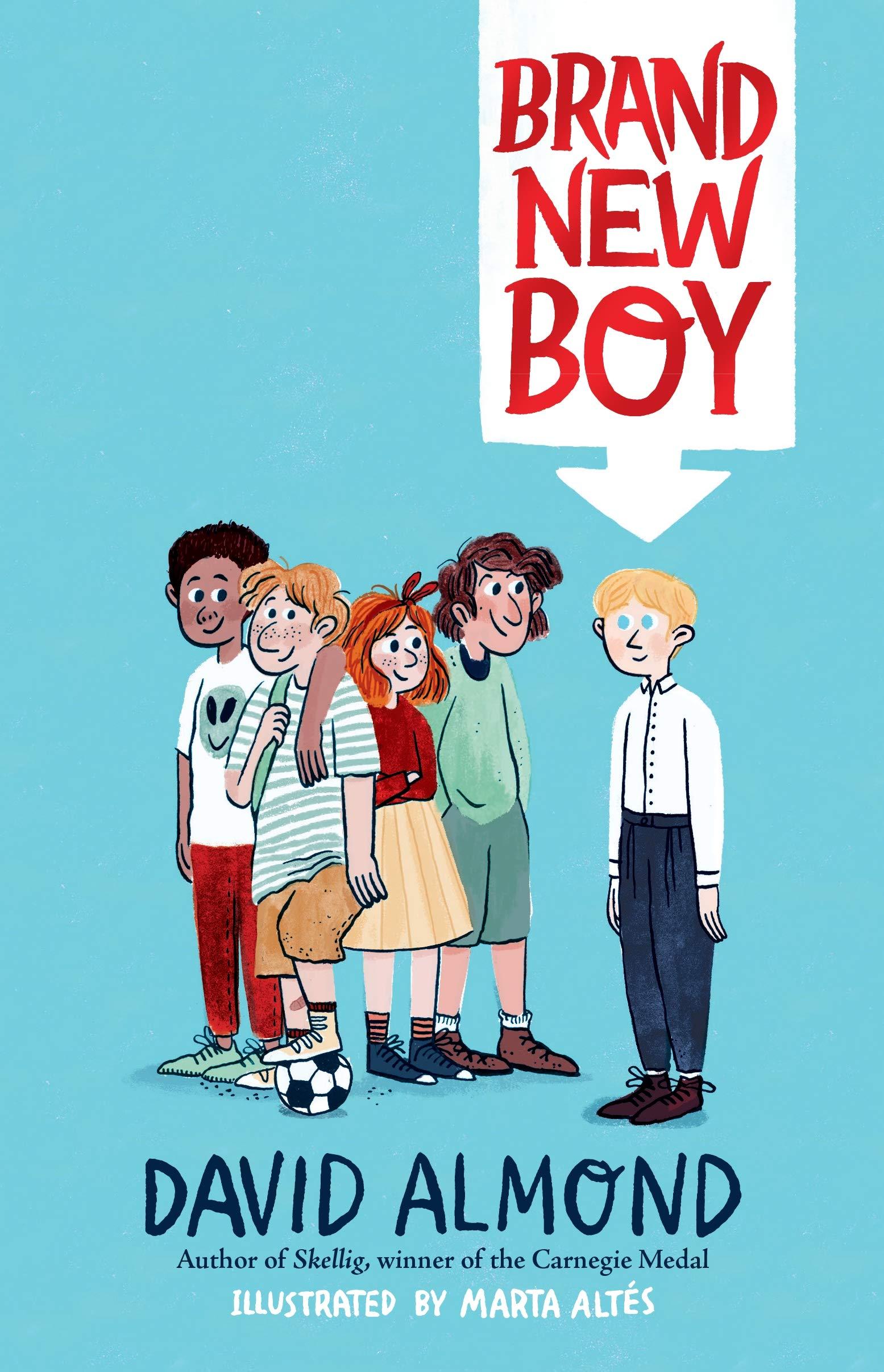 Brand New Boy: Amazon.co.uk: Almond, David, Altés, Marta: Books