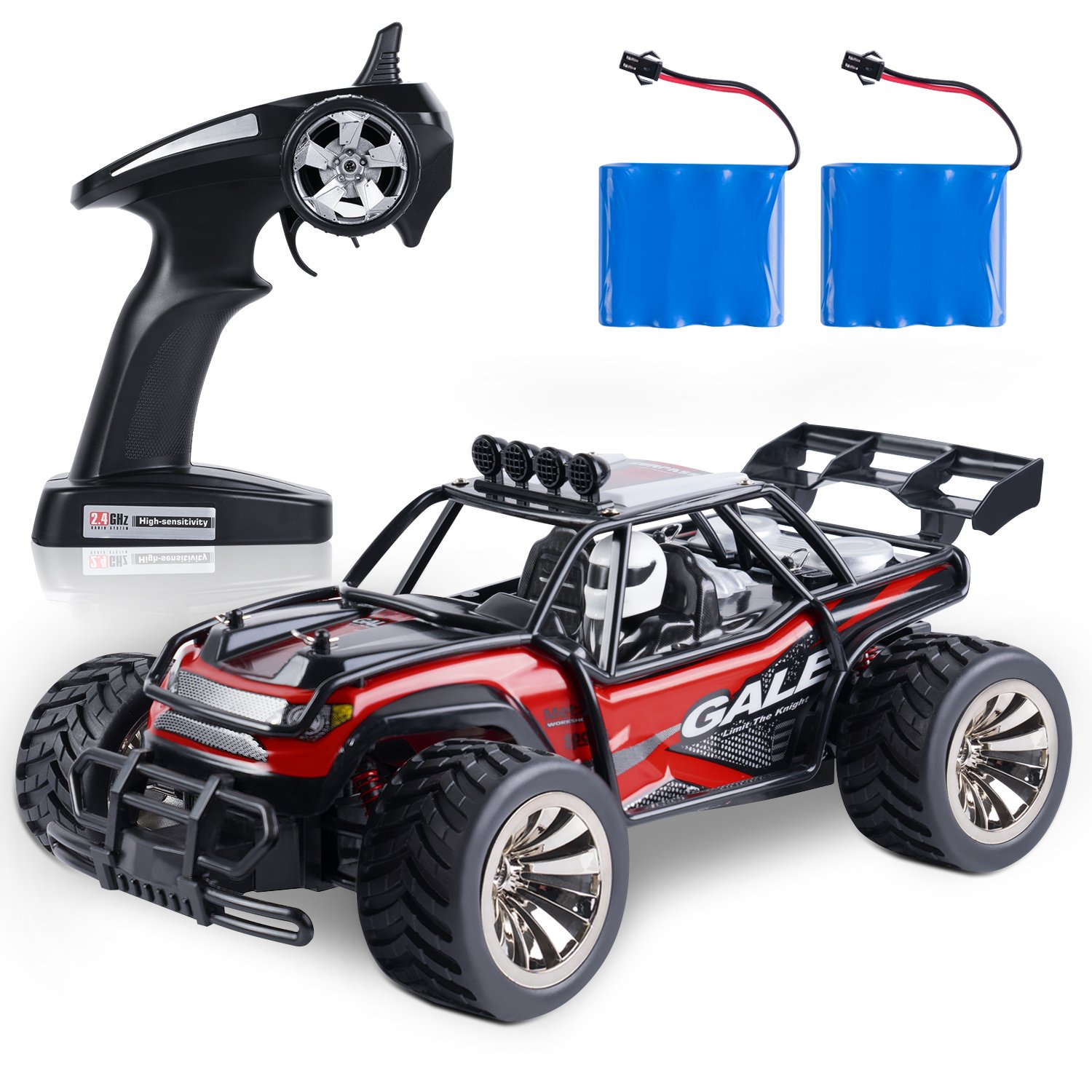 2.4Ghz 2WD Fast Race 5 Green Toch RC Car High Speed Car 1:20 Remote Control Racing Car for Boys Kids Crawler Buggy Hobby Electric Vehicle Car