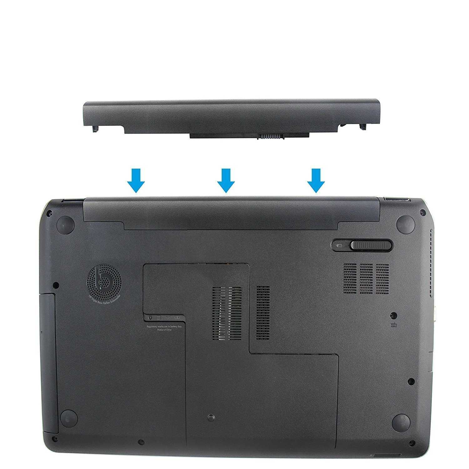 Amazon.com: Fully New Replacement HS04 HS03 Laptop Battery Compatible with HP 245 g4 255 g4 HSTNN-LB6U HSTNN-LB6V 807957-001 807956-001 807612-421 - 14.8V ...