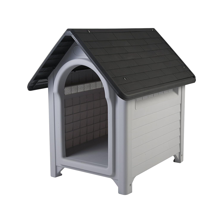 Grey M Grey M Iris EU Dog House, Grey
