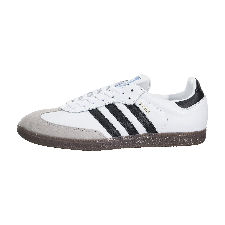 buy online ae5a2 5875a Amazon.com   adidas Men Samba OG (White core Black Gum)   Fashion Sneakers