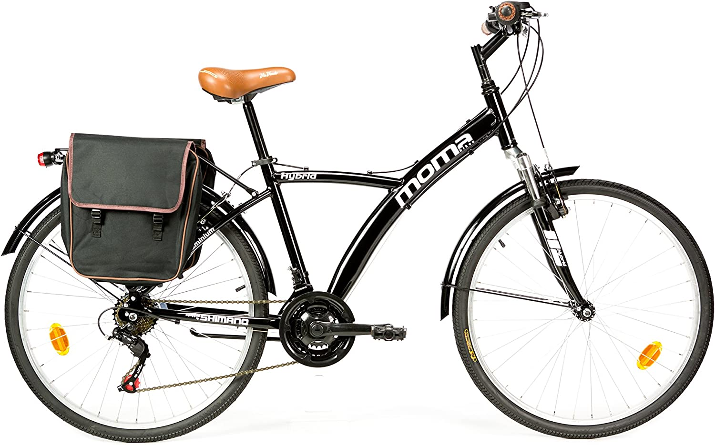 Moma Bikes Bicicleta Trekking / Paseo HYBRID 26