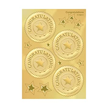 Gold stickers; Gold labels