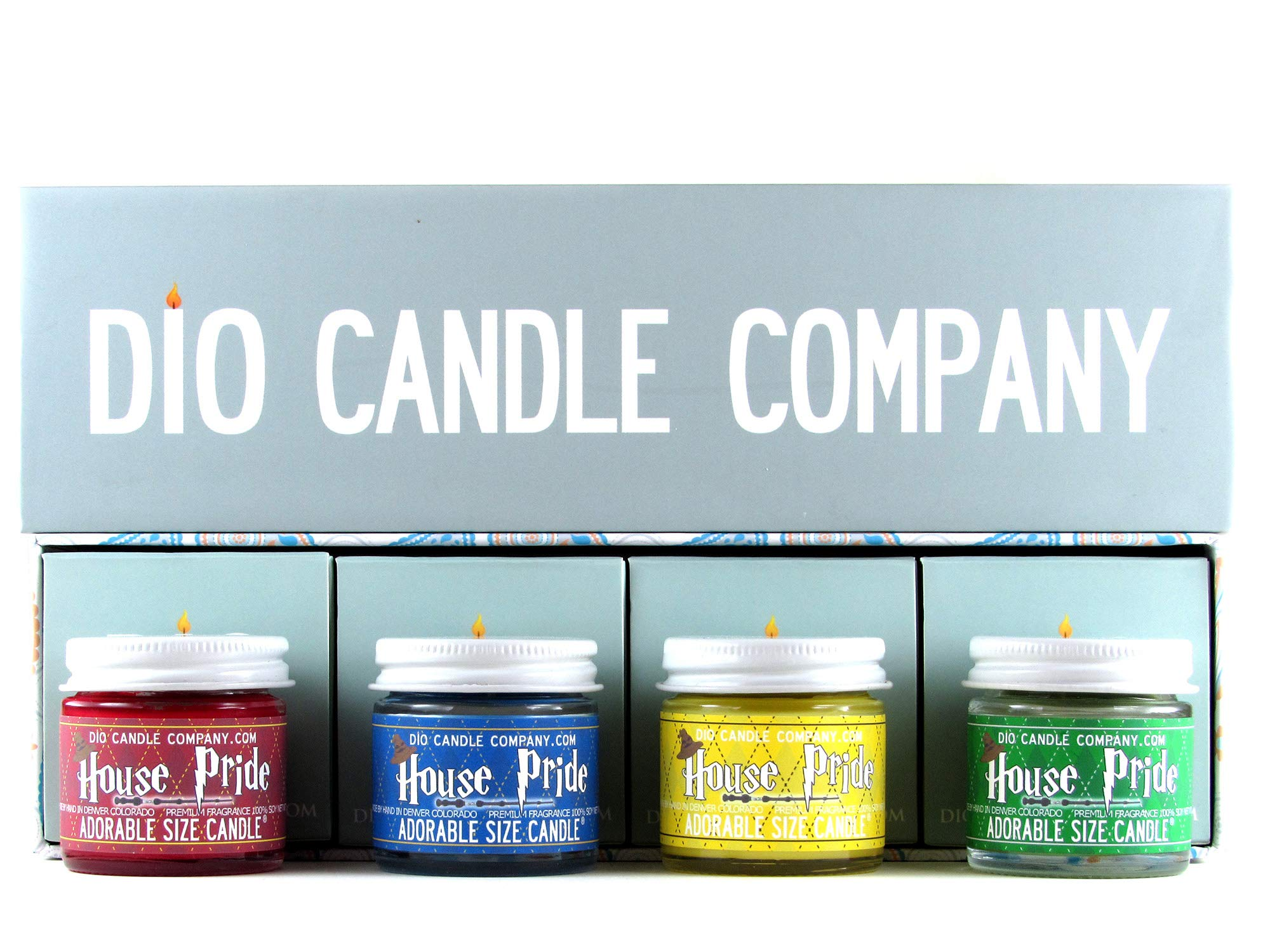 Adorable Size Candle Wizard Sorting House Pride Collectors Gift Set