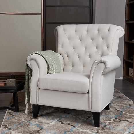 Amazon.com: LOKATES HOME Modern Living Room Accent Arm Chair ...