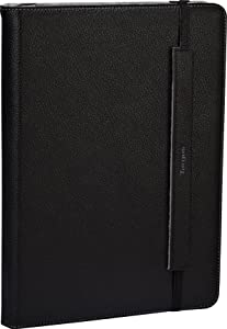 Targus Truss Leather Case/Stand for 10.1-Inch Acer ICONIA TAB A500 THZ07002US (Black/Gray)