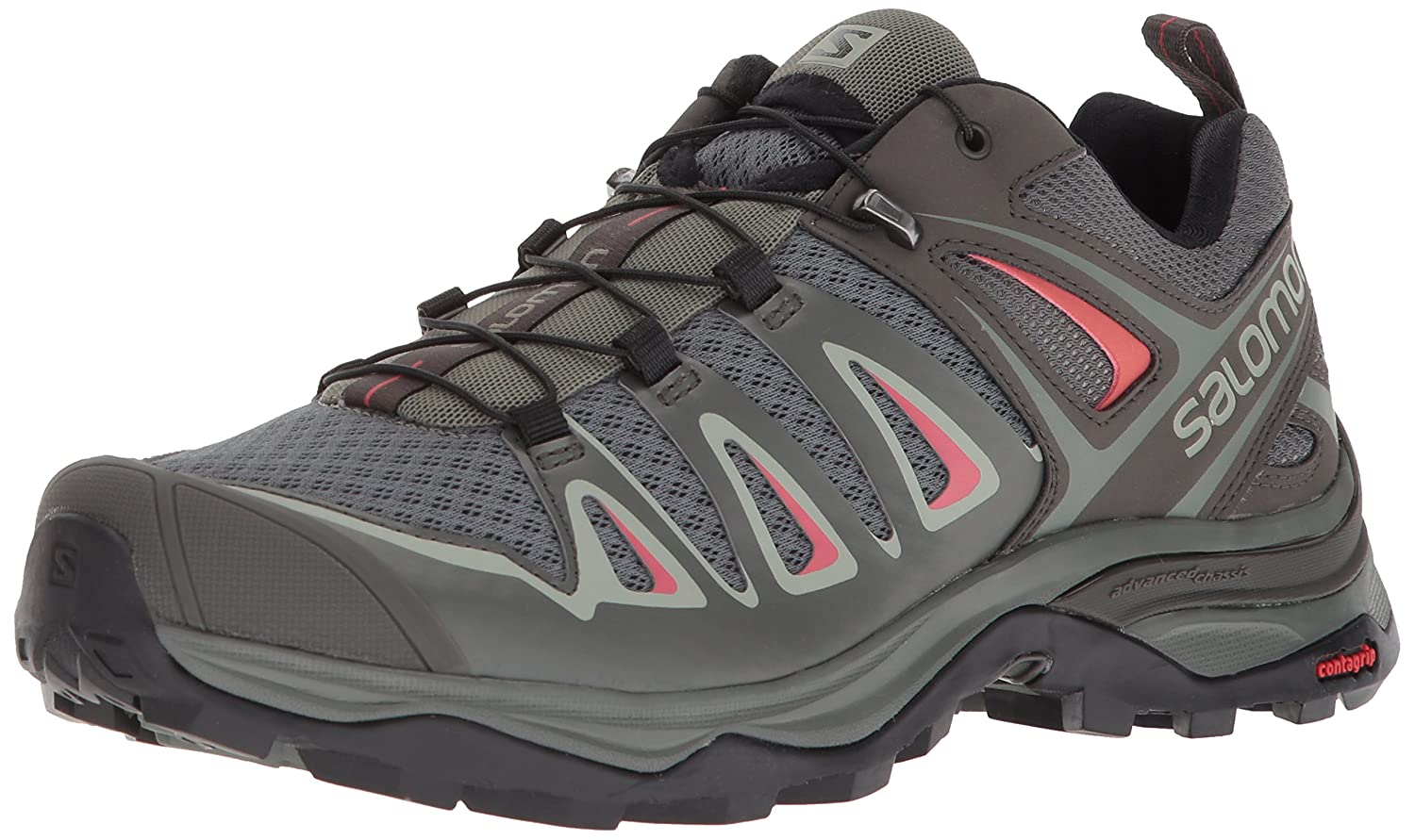 Salomon Women's X Ultra 3 W Hiking Shoes B072PPXZMN 9 B(M) US|Shadow