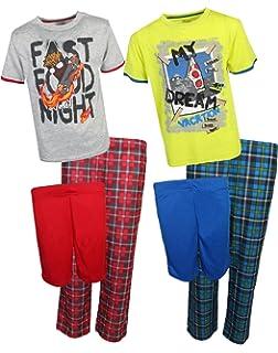 Sleep On It Boys 6-Piece Spring Pajamas (2 Full Sets)