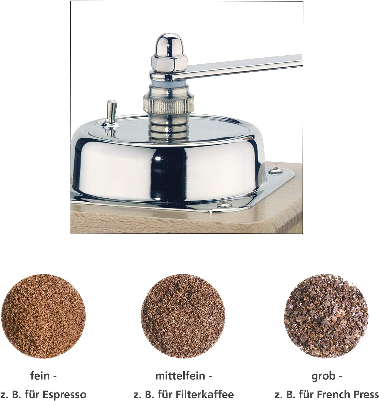 color natural Molinillo de caf/é manual Zassenhaus 40098
