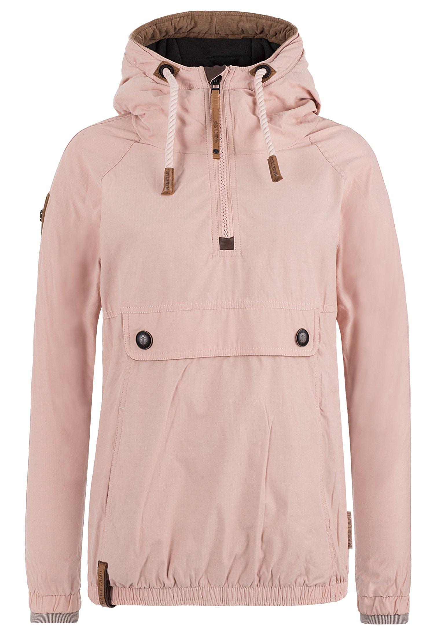 Naketano Women's Jacket Penisbutter Dusty Pink, XL by Naketano