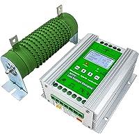 Mars Rock1400W 12V/24V Off Grid MPPT Wind Solar Hybrid Charge Controller Design for 0-800W Wind with 0-600W Solar Panel…
