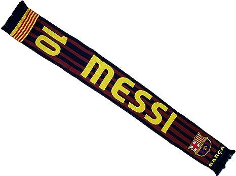 Lionel Messi bufanda - FC Barcelona colección oficial - Liga ...
