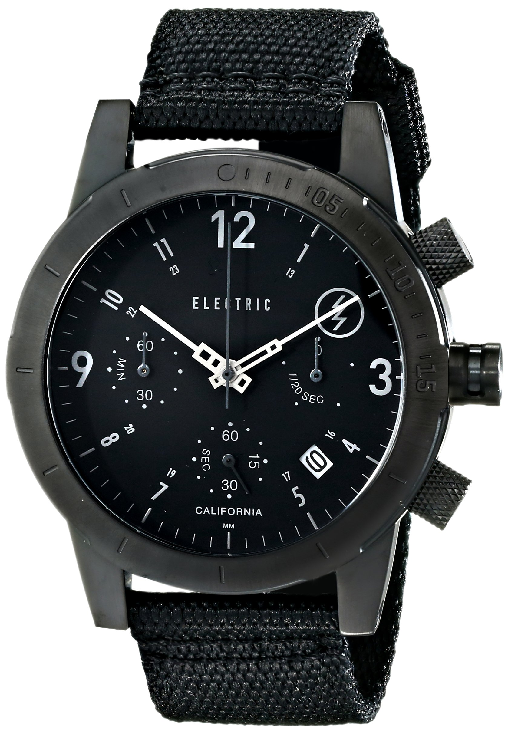 Electric Men's EW0020020005 FW02 Nato Band Analog Display Japanese Quartz Black Watch by Electric