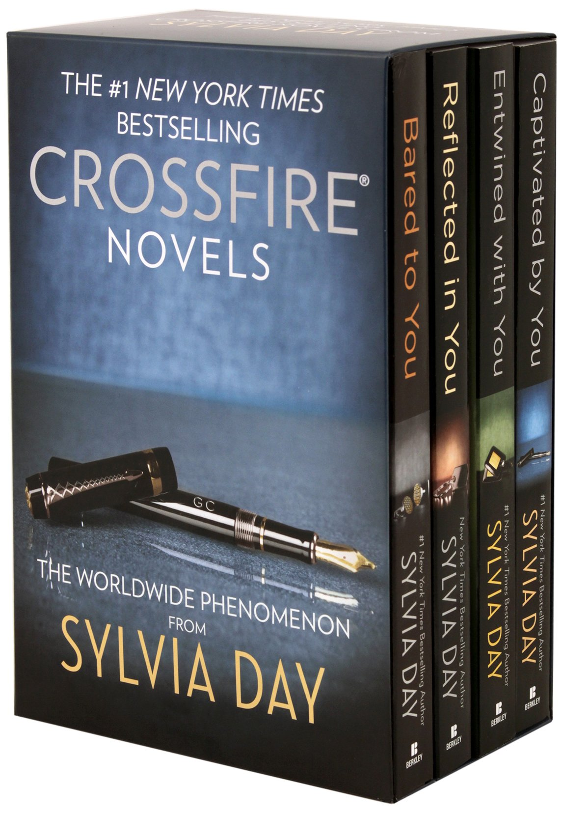 Amazon sylvia day books biography blog audiobooks kindle sylvia day crossfire series 4 volume boxed set bared to youreflected in youentwined with youcaptivated by you fandeluxe Image collections