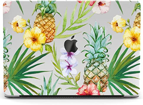 Beautiful Flower Pattern Hard Protective Case Cover For Apple MacBook 2017 2018