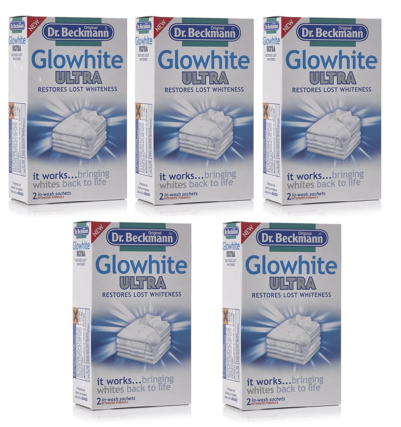 Dr.Beckmann Glowhite Ultra (Set of 5 Boxes) Acdoco