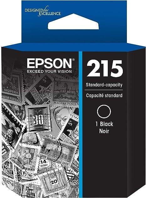 Amazon.com: T215 Cartucho de tinta negra, capacidad ...