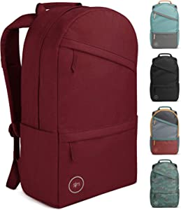 Simple Modern Legacy Backpack with Laptop Compartment Sleeve - 25L Travel Bag for Men & Women College Work School -Cabernet