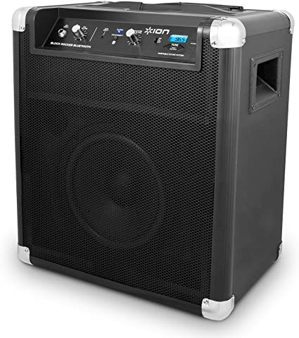 ION Audio Block Rocker (iPA8B)  Bluetooth Portable Speaker with Auxiliary  USB Charger [8 Model]