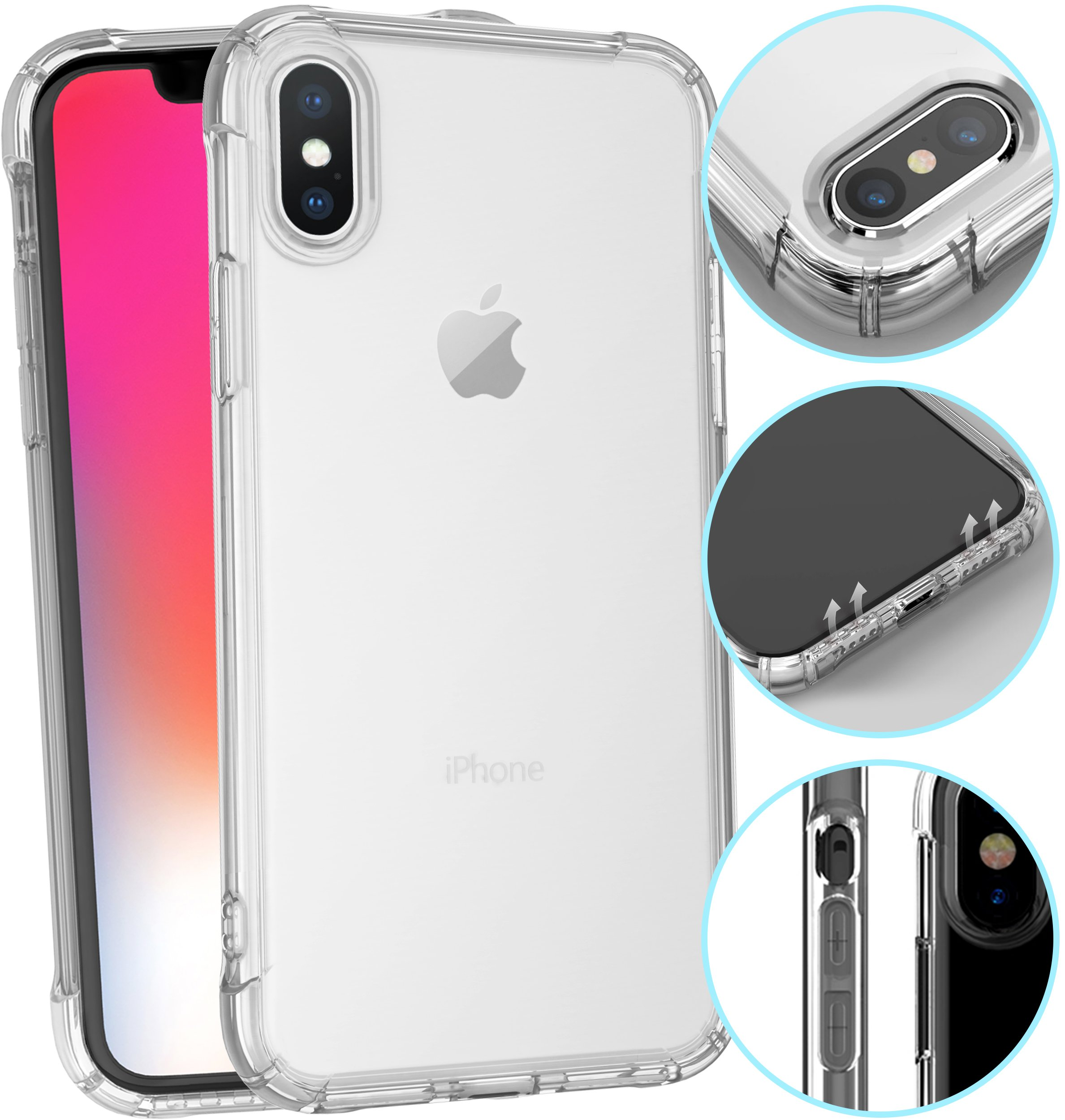 Iphone X Xs Cover Iphone X Case For Men Woman Girls Iphone 8 X Case Phone