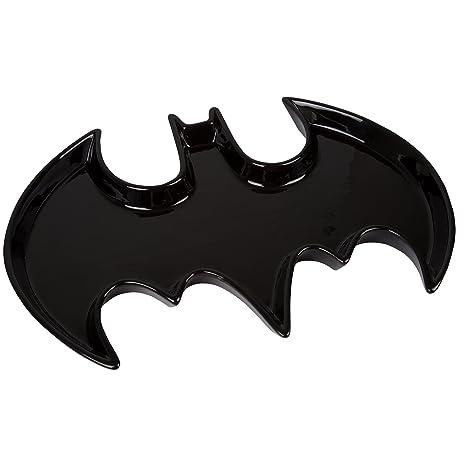 Amazon Batman Ceramic Serving Platter Dc Comics Bat Symbol