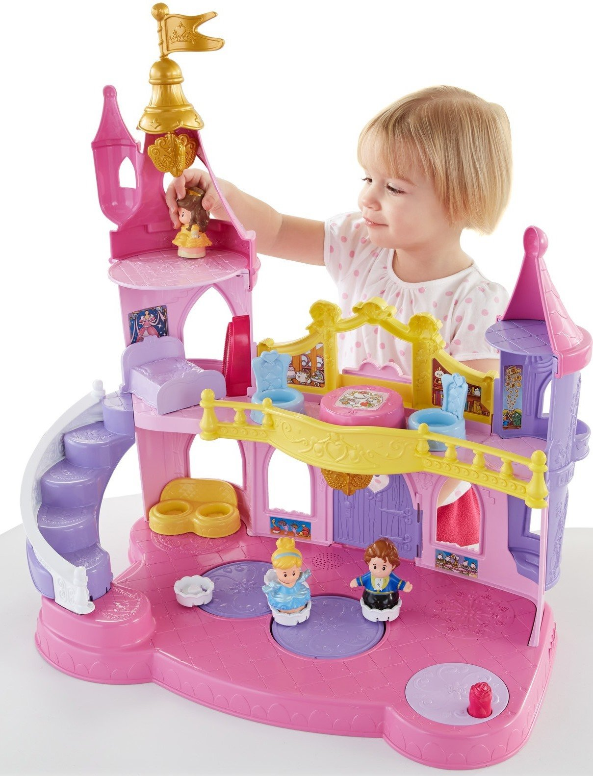 Fisher-Price Little People Disney Princess, Musical Dancing Palace by Fisher-Price (Image #2)