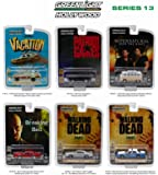 Hollywood Series / Release 13, 6pc Diecast Car Set 1/64 by Greenlight 44730
