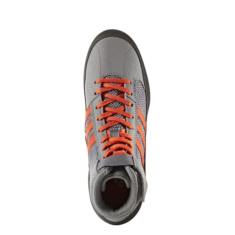 Hamburguesa Coca Una efectiva  adidas Mens Boys HVC2 Wrestling Mat Shoe Ankle Strap 2 Colors AQ3325  Wrestling