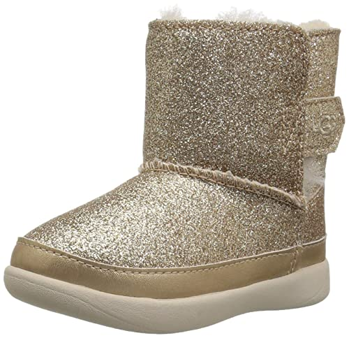 UGG Tronchetto Keelan Glitter Bambino Kids Girl Mod. 1096313T: Amazon.es: Zapatos y complementos