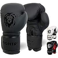 FIGHTR® Premium Guantes de Boxeo - Estabilidad y Potencia de golpeo Ideales | Guantes de Boxeo, MMA, Muay Thai…