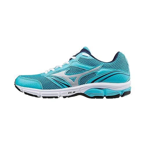 tiedot urheilukengät esikatselu Mizuno Running Shoes Sneaker Women Celeste Blue Wave Impetus 3